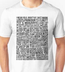 Achievement Hunter Quotes (Clean Version) T-Shirt