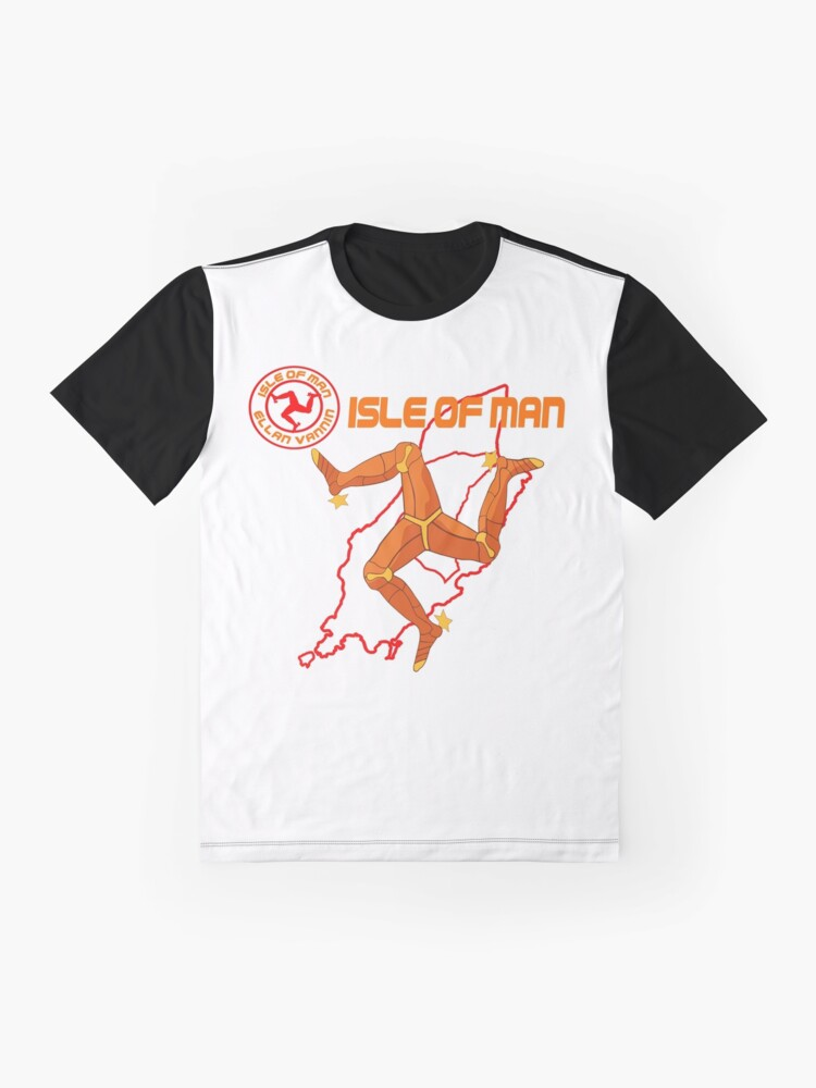 Alternate view of The Isle of Man Graphic T-Shirt