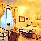 Hotel Sgroi's bedroom by Giuseppe Cocco