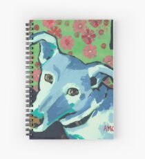Blue Zoe Spiral Notebook