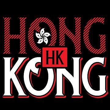 Hong Kong skyscraper by GeschenkIdee