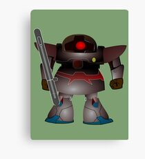 Battle Bot by Chillee Wilson Canvas Print