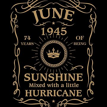 June 1945 Sunshine Mixed With A Little Hurricane by lavatarnt