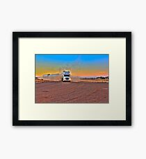 Driver Revive Framed Print