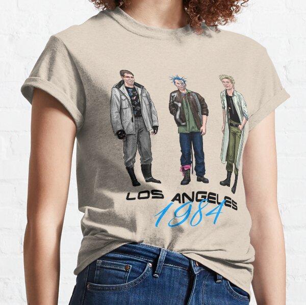 Los Angeles 1984 - Punk Trio Classic T-Shirt
