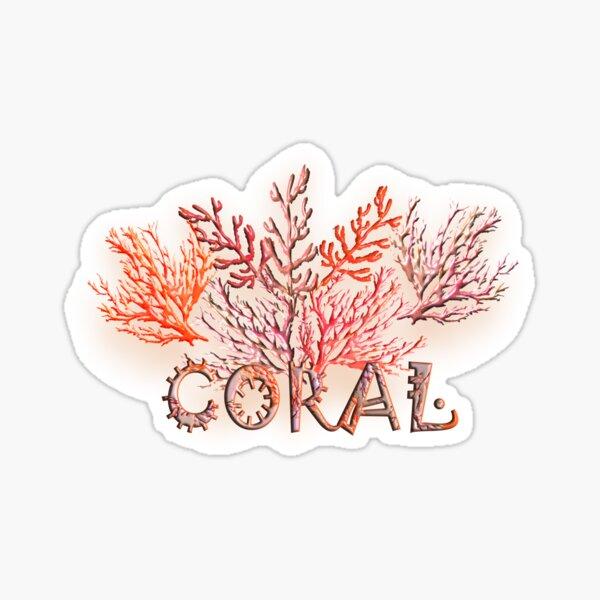 CORAL-CORAL 234. Sticker