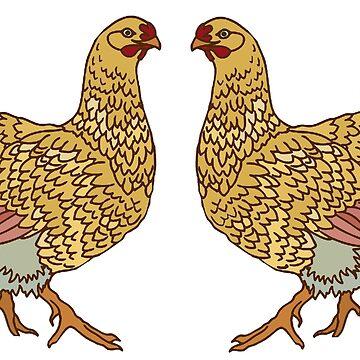 Hen Party by redqueenself