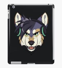 Headphone Wolf iPad Case/Skin