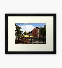Meersburg Flair at the New Castle Framed Print