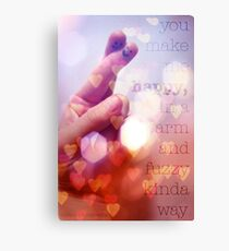 Puppetry Love Canvas Print