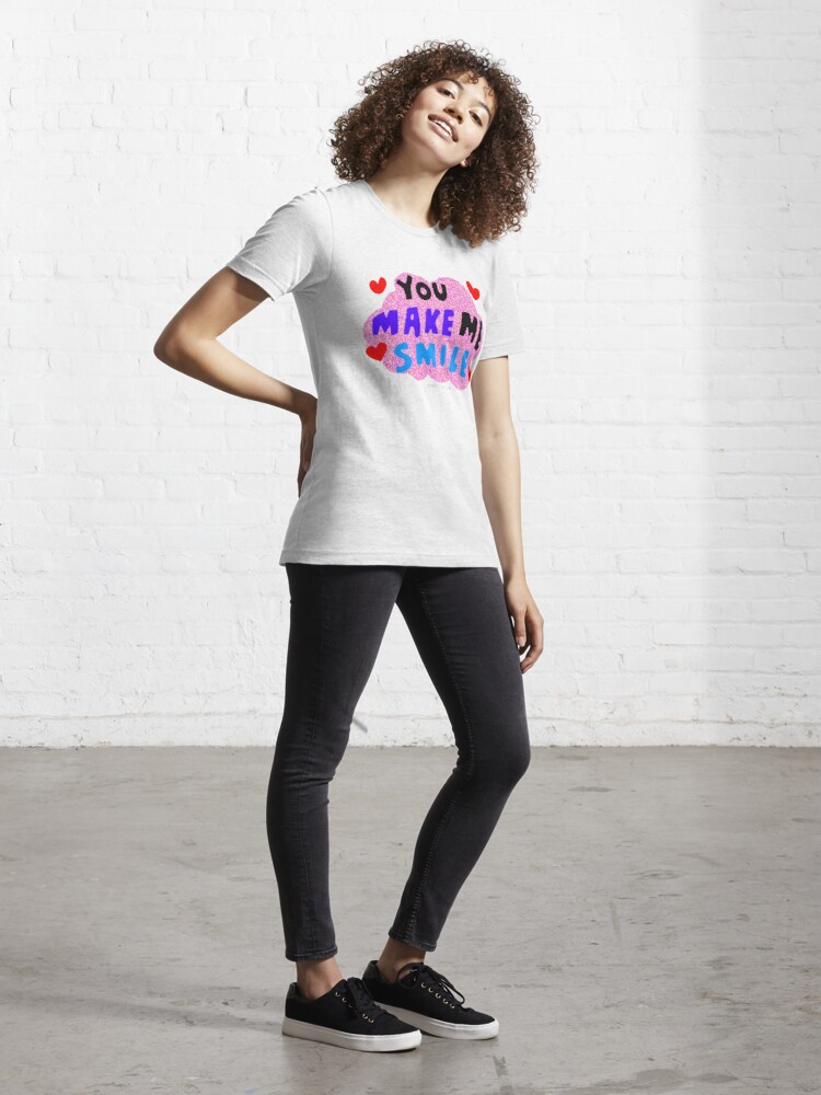 Alternate view of You make me smile Essential T-Shirt