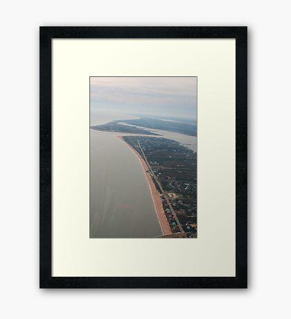 The Florida Coast (St. Augustine) Framed Print