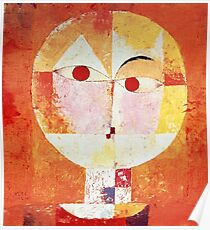 Paul Klee Senecio. Poster