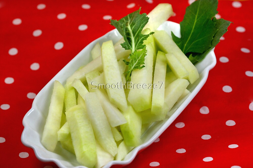 Healthy Green Fingerfood Sticks by SmoothBreeze7