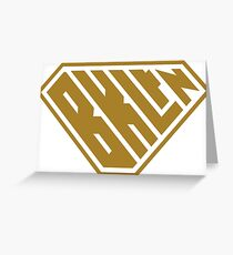 Brooklyn SuperEmpowered (Gold) Greeting Card
