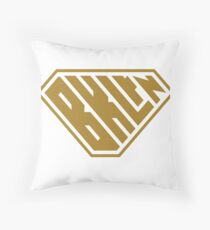 Brooklyn SuperEmpowered (Gold) Throw Pillow