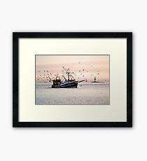 Maritime Heritage Framed Print