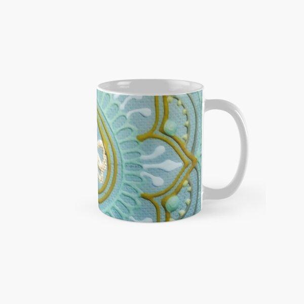 Iced Bee Mandala Classic Mug