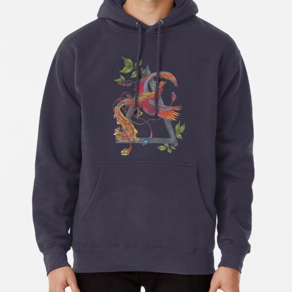 Phoenix Rising - The Alchemy of Fire Pullover Hoodie