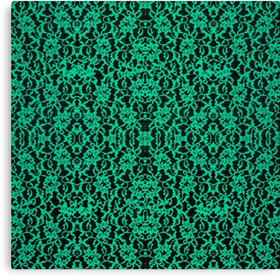 Kelly Green Irish Lace by UROCKlive1