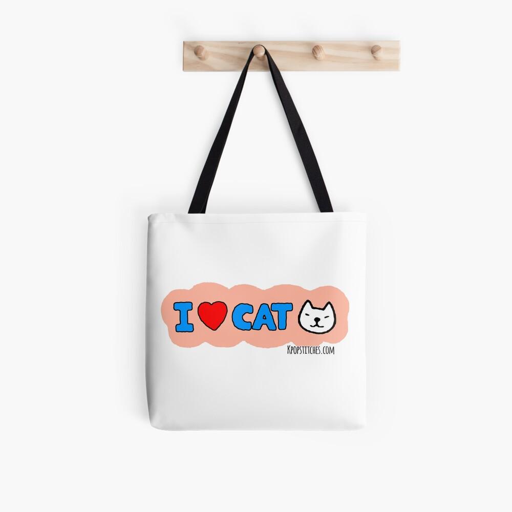 I <3 CAT  Tote Bag