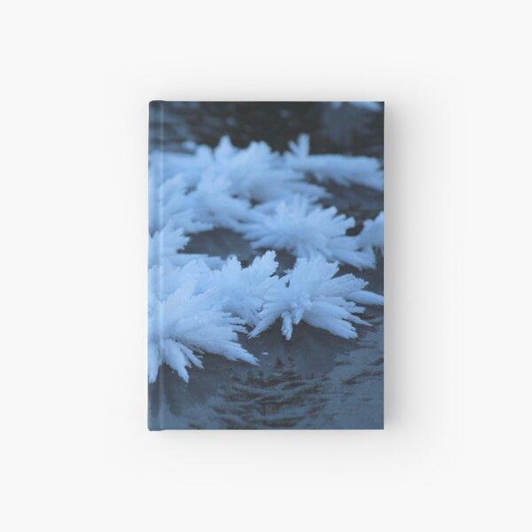 Schneekristalle Notizbuch