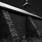 ADOBE CHURCH IN THE MANZANO MOUNTAINS 2 by Thomas Barker-Detwiler