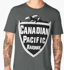 Canadian Pacific Railway Men's Premium T-Shirt