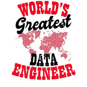 Data Nerd Shirt | Worlds Greatest Data Engineer Gift by IsiTees