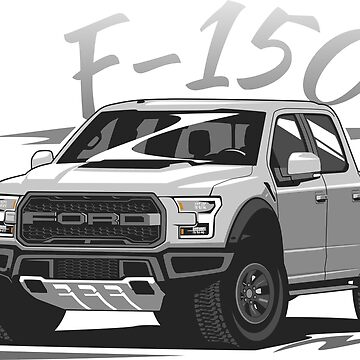 F-150 Raptor F150 Vector Style by glstkrrn