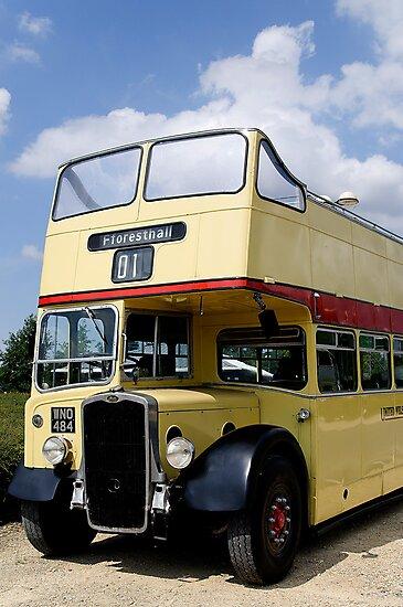 Vintage open top Bristol KSW by David Carton