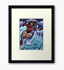 Britannia vs WaterDemon Framed Print
