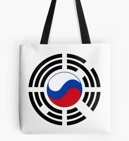 Korean Russian Multinational Patriot Flag Series Tote Bag