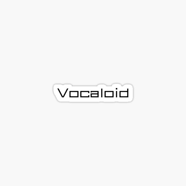 Vocaloid | Minimalist Design Sticker