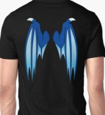 Dragon wings - blue Unisex T-Shirt