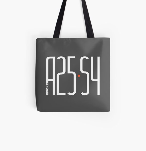 AMENDMENT 25 - SECTION 4 All Over Print Tote Bag