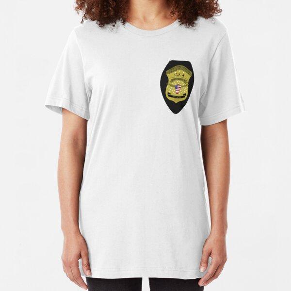 Attache badge - Patriot Amazon Prime Slim Fit T-Shirt