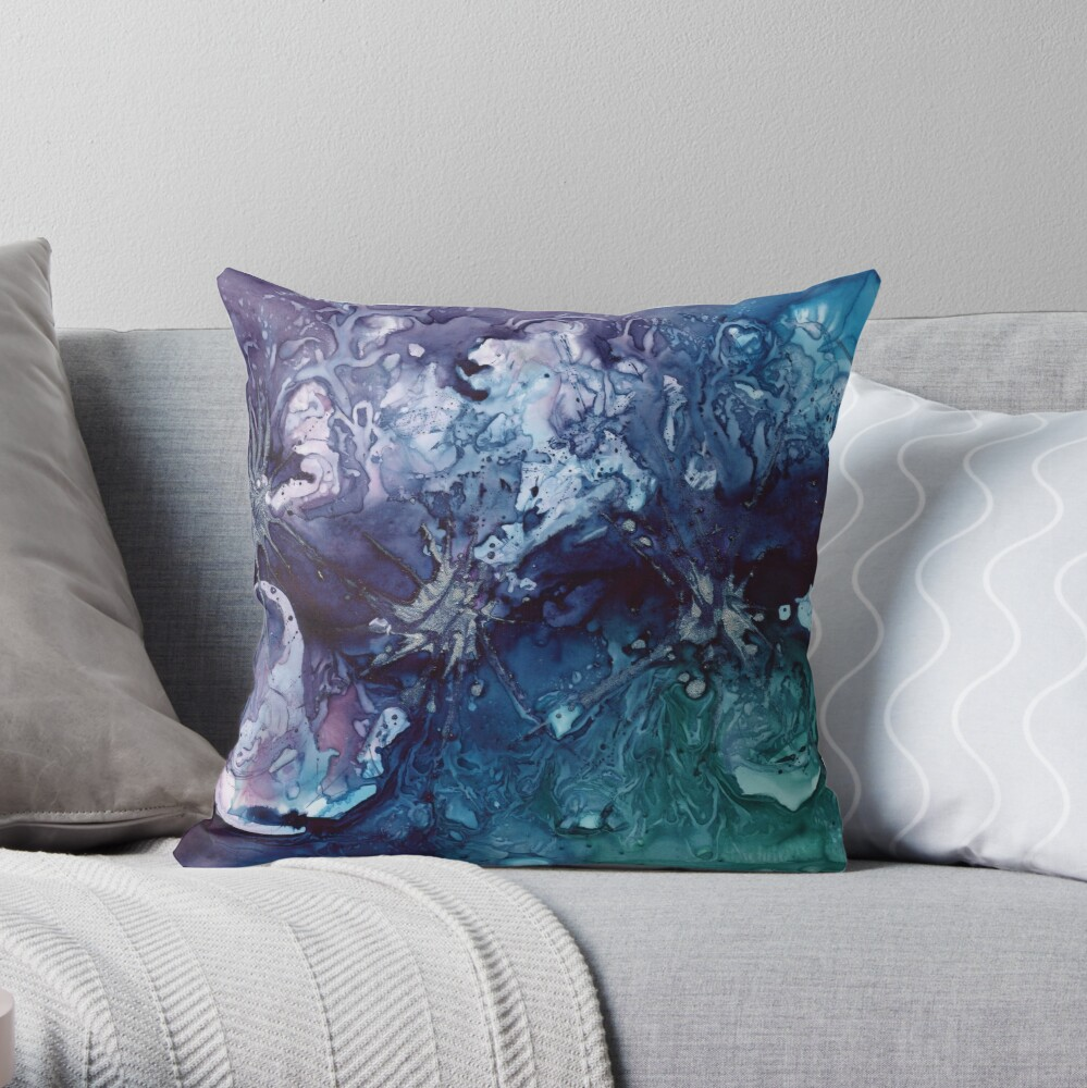 Wonders Never Cease Throw Pillow
