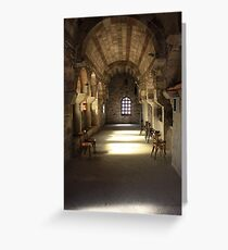 Cathedral Church of Ekatontapiliani ~ Parikia, Paros Greeting Card