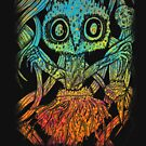Awesome Trippy Psychedelic Spider Colorful by perfectpresents