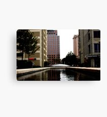 suburban plaza Canvas Print