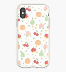 Frucht-Muster iPhone-Hülle & Cover