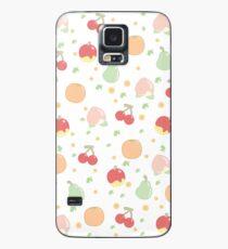 Frucht-Muster Hülle & Klebefolie für Samsung Galaxy