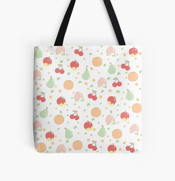 Fruit Pattern  All Over Print Tote Bag
