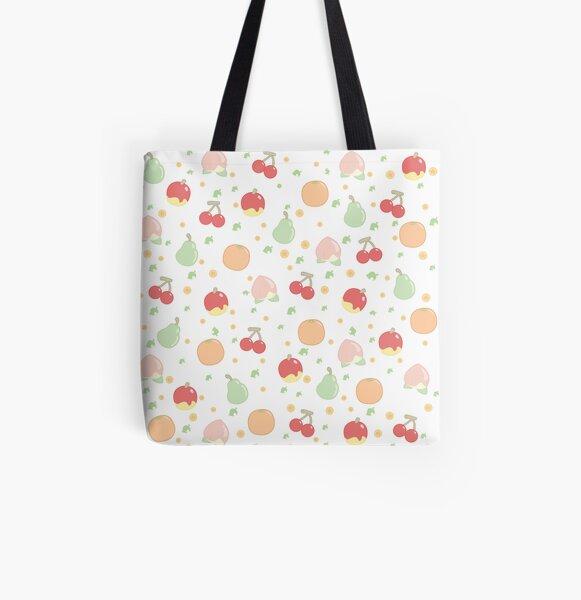 Motif de fruits Tote bag doublé