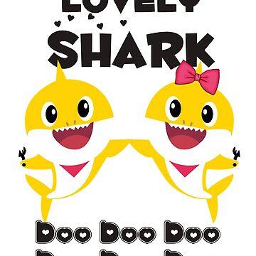 Lovely Baby Shark Doo Doo Doo by amethystdesign