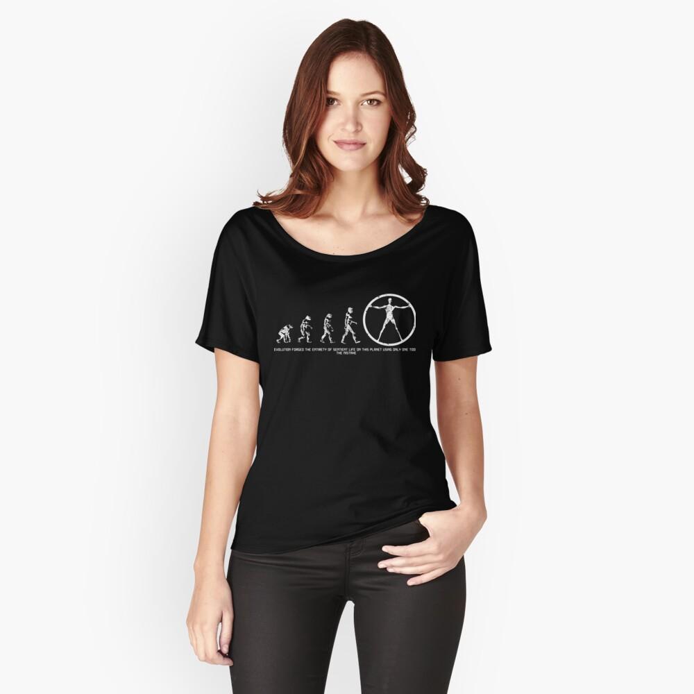 Entwicklung von Westworld Loose Fit T-Shirt