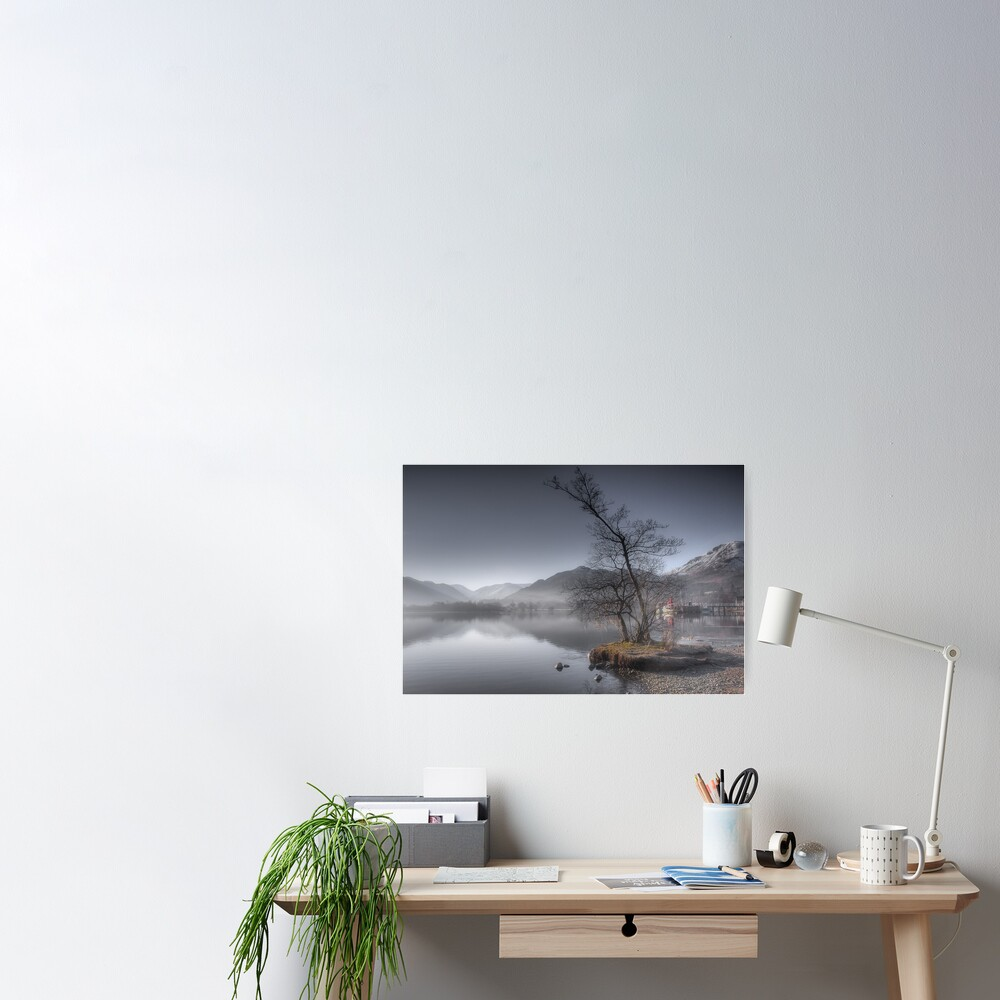 Winters Morning Poster