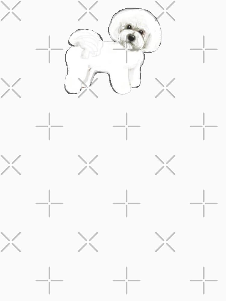 Bichon Firise dogs on mint by MagentaRose