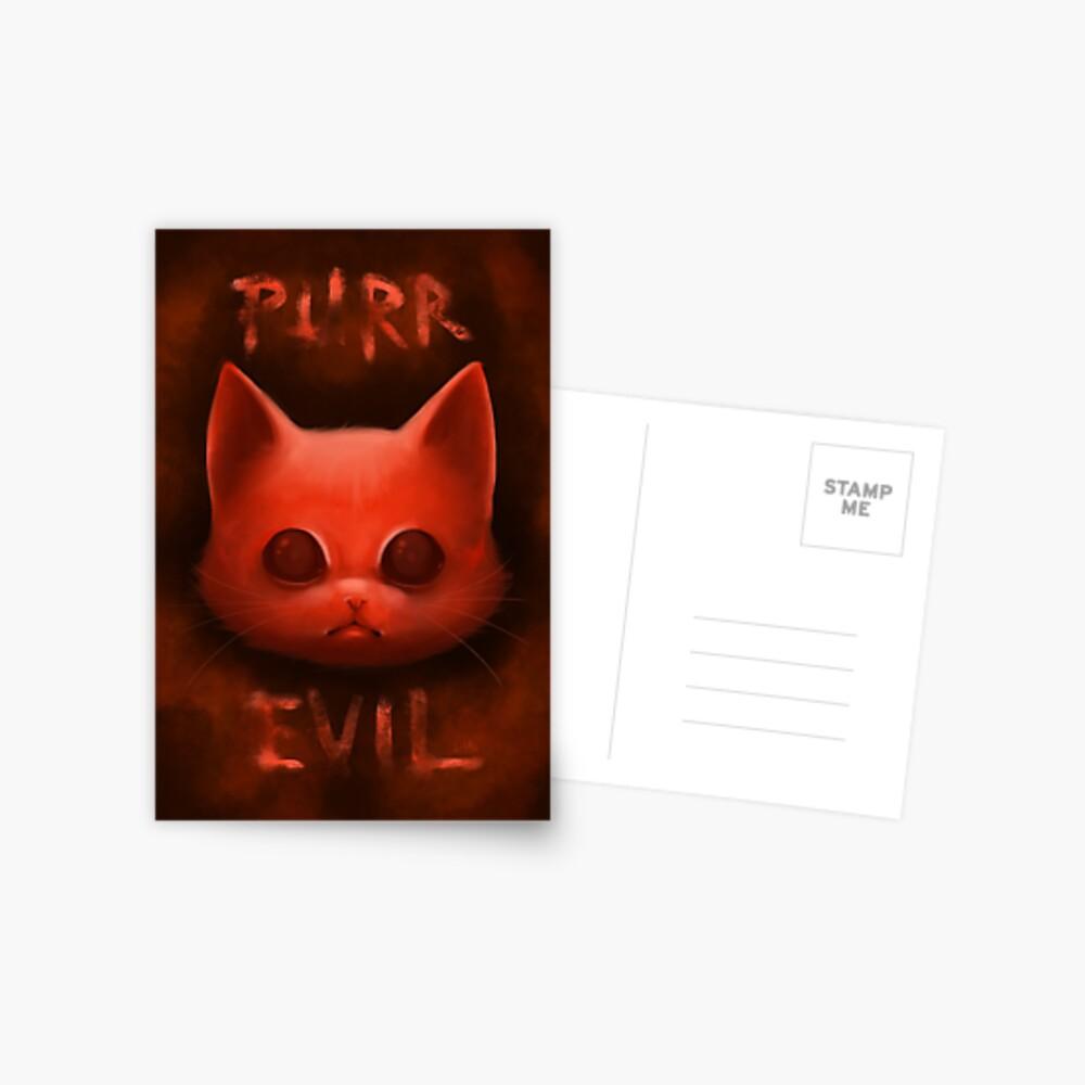 Carte postale «PurrEvil»